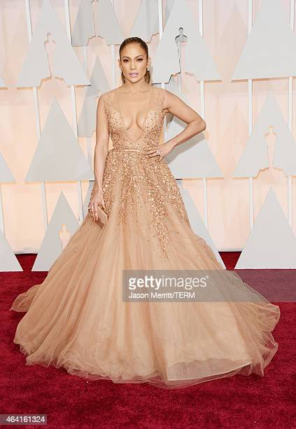 Recording artist Jennifer Lopez attends the 87th Annual Academy Awards at Hollywood & Highland Center on February 22, 2015 in Hollywood, California.
