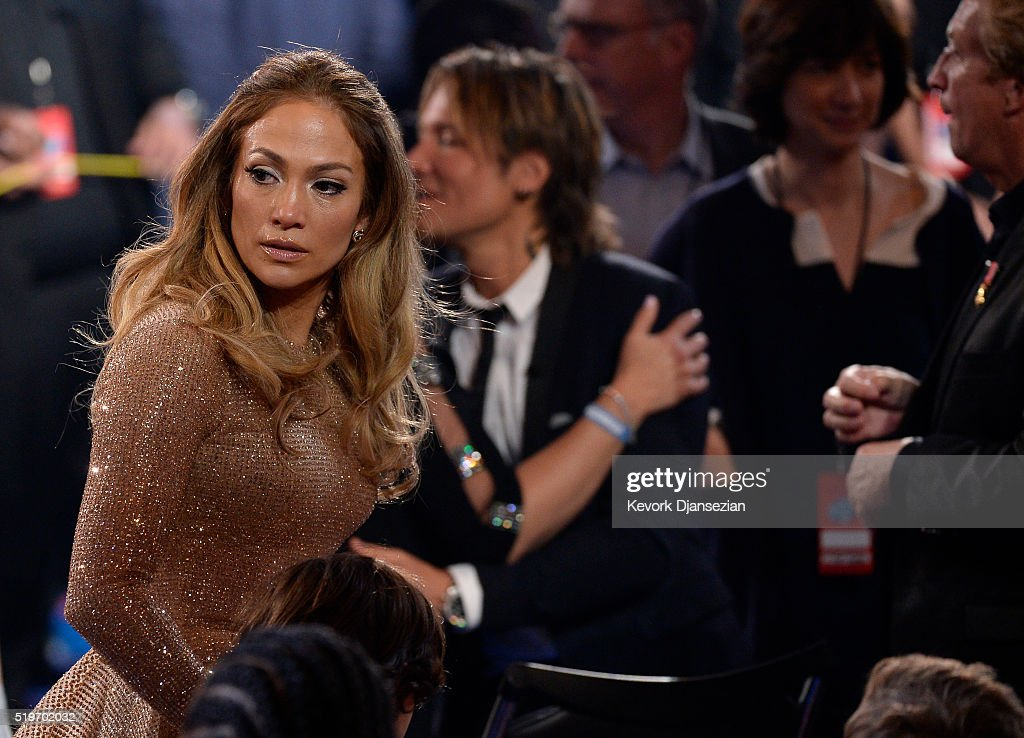 Recording artist Jennifer Lopez is overcome with emotion during FOX's 'American Idol' Finale For The Farewell Season at Dolby Theatre on April 7, 2016 in Hollywood, California. at Dolby Theatre on April 7, 2016 in Hollywood, California.