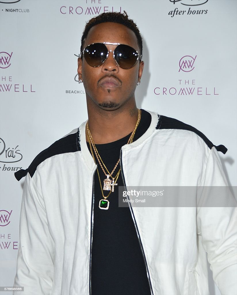 Recording artist Jeremih arrives at Drai's Beach Club - Nightclub at The Cromwell Las Vegas to celebrate his 29th birthday on July 17, 2016 in Las Vegas, Nevada.