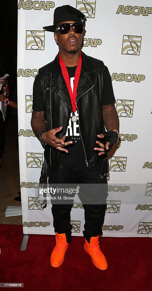 Recording artist Jeremih attends The American Society of Composers, Authors and Publishers (ASCAP) 26th Annual Rhythm & Soul Music Awards at The Beverly Hilton Hotel on June 27, 2013 in Beverly Hills, California.