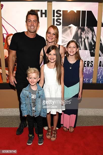 Recording Artist Jeremy Camp arrives at the This Is Winter Jam Nashville Red Carpet Premiere on April 12 2016 in Franklin Tennessee