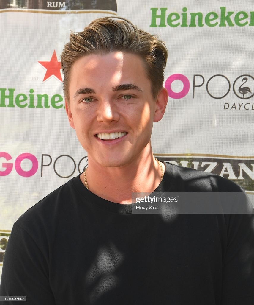 Jesse McCartney Performs At The Flamingo Go Pool In Las Vegas