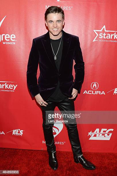 Recording artist Jesse McCartney attends 2014 MusiCares Person Of The Year Honoring Carole King at Los Angeles Convention Center on January 24 2014...