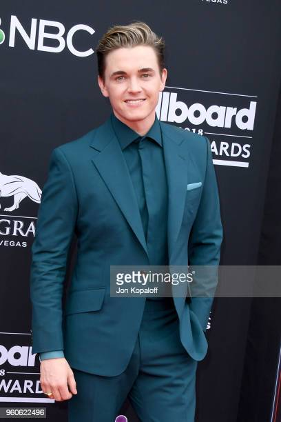 Recording artist Jesse McCartney attends the 2018 Billboard Music Awards at MGM Grand Garden Arena on May 20 2018 in Las Vegas Nevada