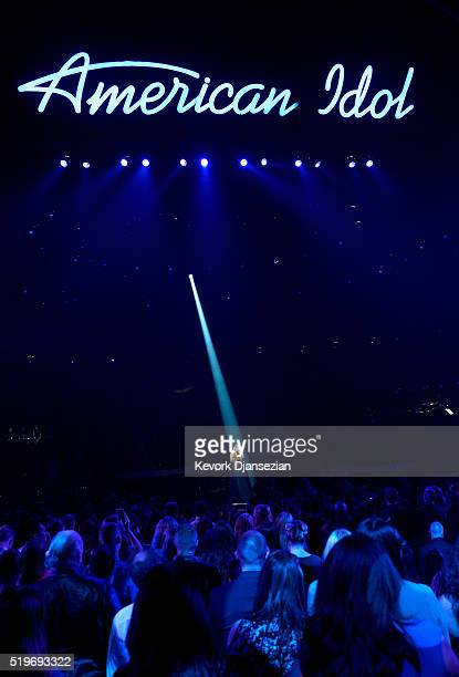 "Recording artist Jessica Sanchez performs onstage during FOX's ""American Idol"" Finale For The Farewell Season at Dolby Theatre on April 7, 2016 in..."