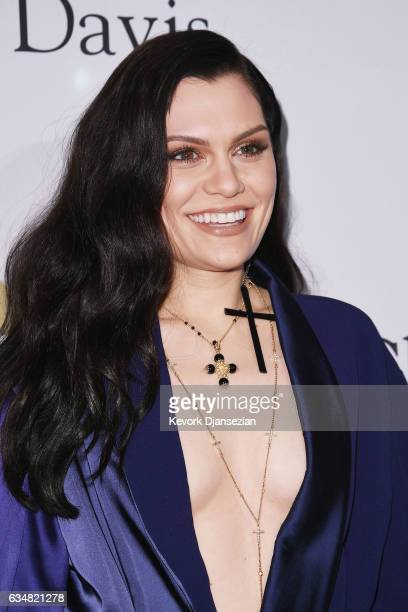 Recording artist Jessie J attends PreGRAMMY Gala and Salute to Industry Icons Honoring Debra Lee at The Beverly Hilton on February 11 2017 in Los...