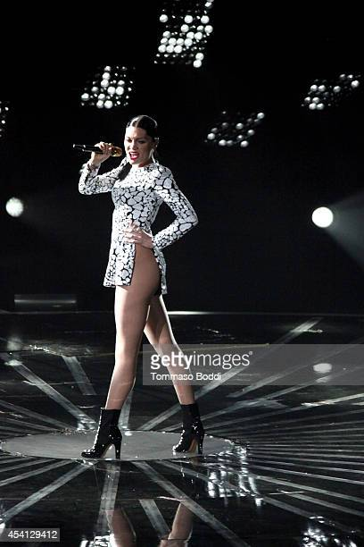 Recording artist Jessie J performs at the 2014 MTV Video Music Awards held at The Forum on August 24 2014 in Inglewood California