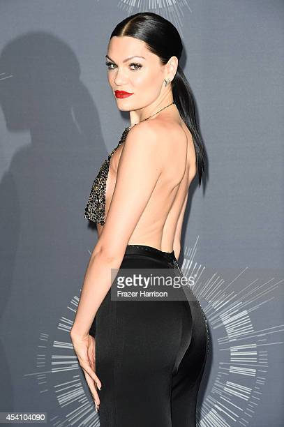 Recording artist Jessie J poses in the press room during the 2014 MTV Video Music Awards at The Forum on August 24 2014 in Inglewood California