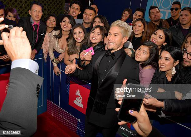 Recording artist Jesus Alberto Miranda Perez attends The 17th Annual Latin Grammy Awards at TMobile Arena on November 17 2016 in Las Vegas Nevada