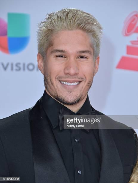 Recording artist Jesus Alberto Miranda Perez of Chino attends the 17th Annual Latin Grammy Awards at TMobile Arena on November 17 2016 in Las Vegas...