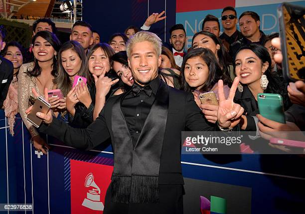 Recording artist Jesus Miranda of CHINO attend The 17th Annual Latin Grammy Awards at TMobile Arena on November 17 2016 in Las Vegas Nevada