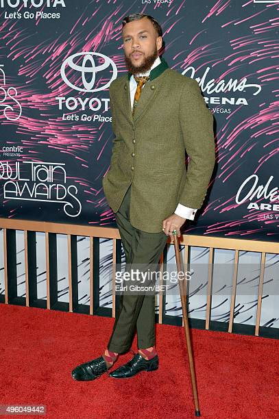 Recording artist Jidenna attends the 2015 Soul Train Music Awards at the Orleans Arena on November 6 2015 in Las Vegas Nevada