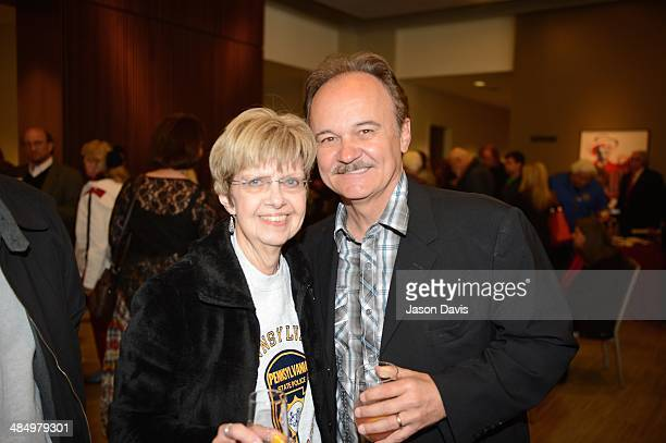 Recording Artist Jimmy Fortune of the Statler Brothers attends the grand opening celebration of the Country Music Hall of Fame and Museum on April 15...