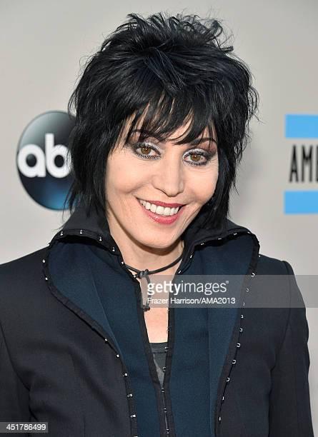 Recording artist Joan Jett attends the 2013 American Music Awards at Nokia Theatre LA Live on November 24 2013 in Los Angeles California