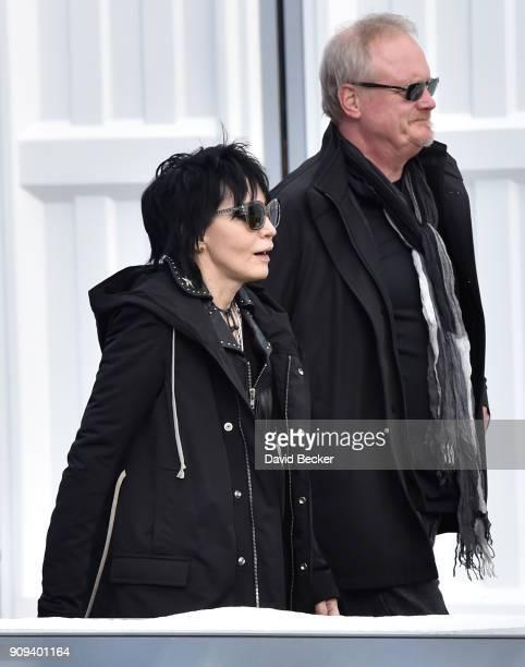Recording artist Joan Jett attends the 2018 Sundance Film Festival on January 23 2018 in Park City Utah