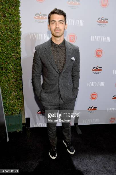 Recording artist Joe Jonas attends Vanity Fair and FIAT celebration of Young Hollywood during Vanity Fair Campaign Hollywood at No Vacancy on...