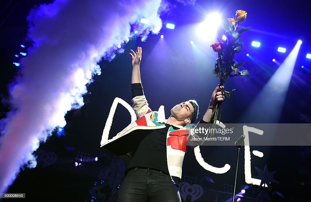 Recording artist Joe Jonas of DNCE performs onstage during 102.7 KIIS FM's Jingle Ball 2015 Presented by Capital One at STAPLES CENTER on December 4, 2015 in Los Angeles, California.