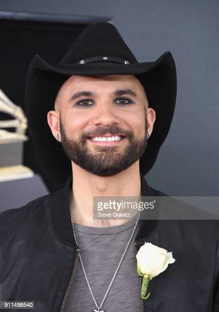 Recording artist Joe Saylor attends the 60th Annual GRAMMY Awards at Madison Square Garden on January 28 2018 in New York City