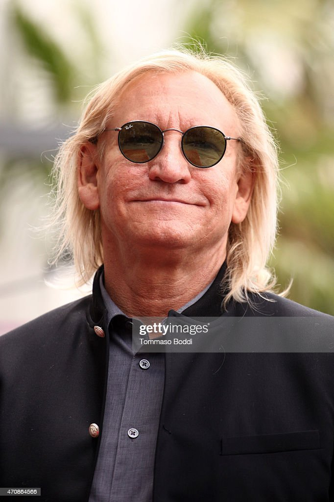 Recording artist Joe Walsh attends a ceremony honoring Recording artist Jeff Lynnel wtih a Star on The Hollywood Walk Of Fame on April 23, 2015 in Hollywood, California.