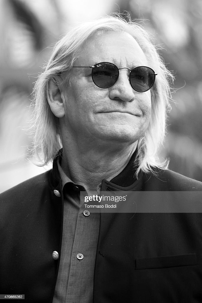 Recording artist Joe Walsh attends a ceremony honoring Recording artist Jeff Lynne wtih a Star on The Hollywood Walk Of Fame on April 23, 2015 in Hollywood, California.
