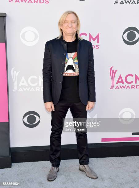 Recording artist Joe Walsh attends the 52nd Academy Of Country Music Awards at Toshiba Plaza on April 2 2017 in Las Vegas Nevada