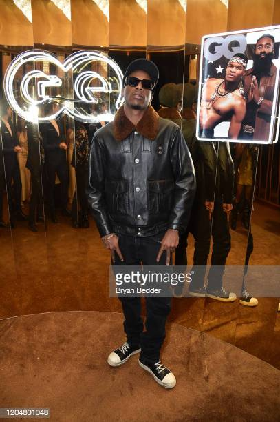 Recording Artist Joey Badass attends the GQ March Cover Party at The Standard Highline on March 01 2020 in New York City