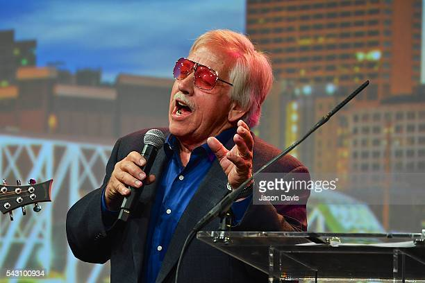 Recording Artist John Conlee performs during 33rd Annual American Eagle Awards during Music Industry Day at Summer NAMM in Music City Center on June...