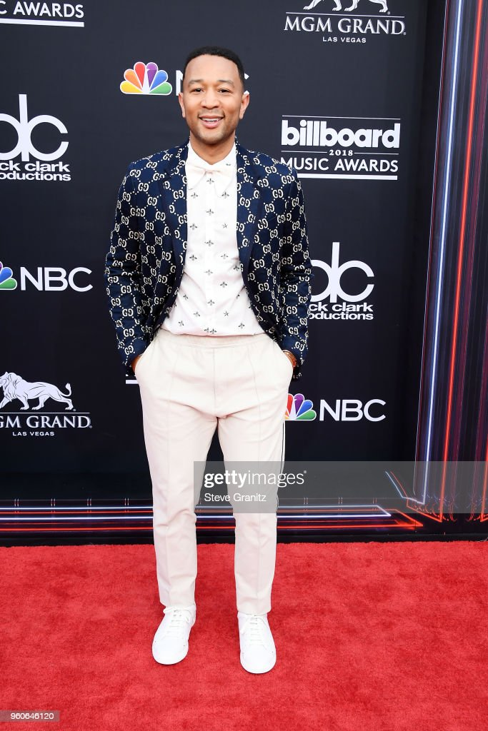 Recording artist John Legend attends the 2018 Billboard Music Awards at MGM Grand Garden Arena on May 20, 2018 in Las Vegas, Nevada.