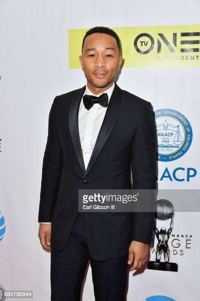 Recording artist John Legend attends the 48th NAACP Image Awards at Pasadena Civic Auditorium on February 11 2017 in Pasadena California