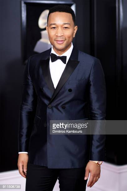 Recording artist John Legend attends the 60th Annual GRAMMY Awards at Madison Square Garden on January 28, 2018 in New York City.