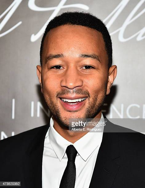 Recording artist John Legend attends the TJ Martell Foundation's Women Of Influence Los Angeles Event at the Loews Hollywood Hotel on May 15 2015 in...