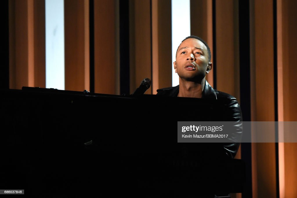 Recording artist John Legend performs onstage during the 2017 Billboard Music Awards at T-Mobile Arena on May 21, 2017 in Las Vegas, Nevada.