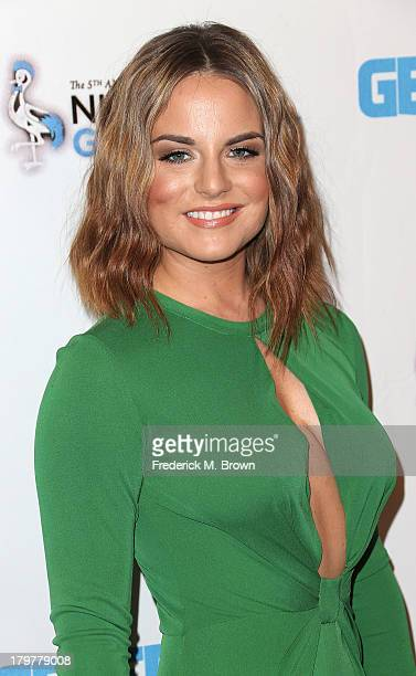 Recording artist Jojo attends Generosity Water's 5th Annual Night of Generosity Benefit at the Beverly Hills Hotel on September 6 2013 in Beverly...
