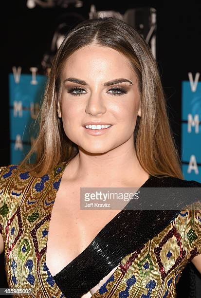 Recording artist JoJo attends the 2015 MTV Video Music Awards at Microsoft Theater on August 30 2015 in Los Angeles California