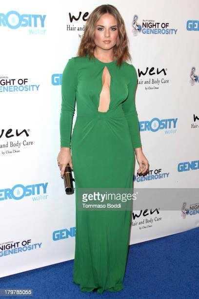 Recording artist JoJo attends the Generosity Water's 5th annual night of Generosity benefit held at the Beverly Hills Hotel on September 6 2013 in...