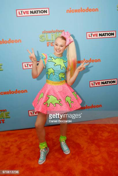 Recording Artist Jojo Siwa attends Nickelodeon SlimeFest at Huntington Bank Pavilion at Northerly Island on June 9 2018 in Chicago Illinois