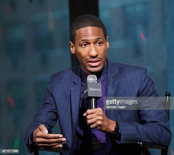 Recording artist Jon Batiste attends the Build Series at AOL HQ on November 4 2016 in New York City