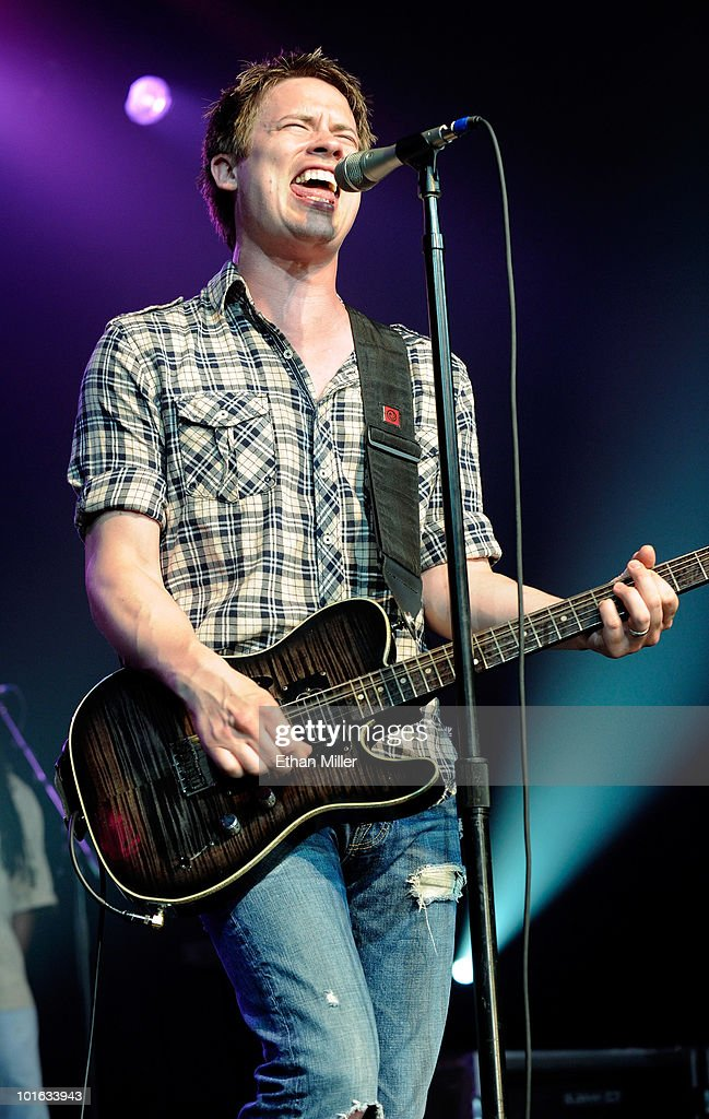 Recording artist Jonny Lang performs at the Silverton Casino Lodge June 4, 2010 in Las Vegas, Nevada. Lang is touring in support of his new album, 'Live at the Ryman.'
