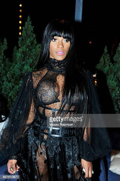 Recording Artist Joseline Hernandez attends UrbanDaddy Presents Grey Goose Le Melon Fruit Of Kings at W Atlanta Buckhead on July 29 2014 in Atlanta...