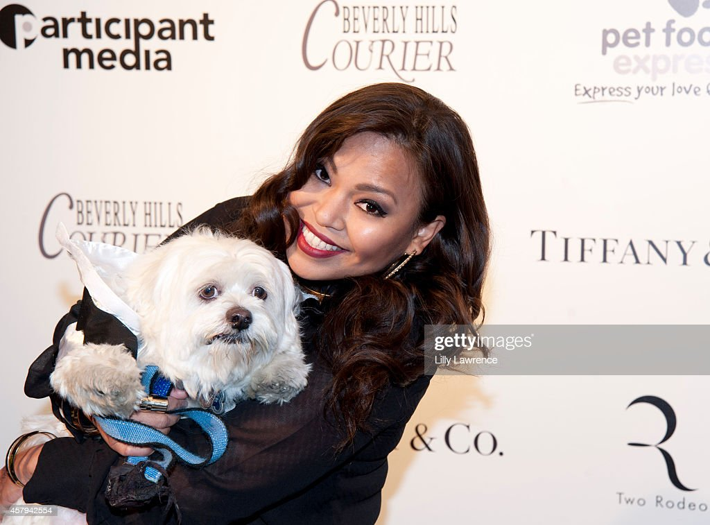 Recording artist Josephine Banig Roberto attends the Amanda Foundation's 2014 Bow Wow Beverly Hills Halloween Rodeo Drive 'Night Of The Living Dog!' Event at Via Rodeo at Two Rodeo Drive on October 26, 2014 in Beverly Hills, California.