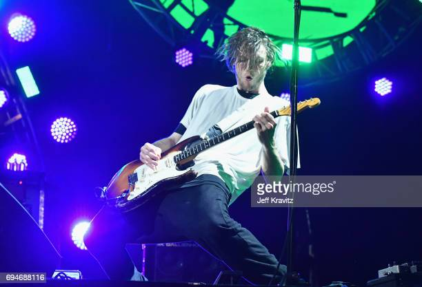 Recording artist Josh Klinghoffer of Red Hot Chili Peppers performs onstage at What Stage during Day 3 of the 2017 Bonnaroo Arts And Music Festival...