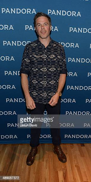 Recording Artist Josh Ritter arrives at Pandora Presents Americana at The Cannery on September 18 2015 in Nashville Tennessee
