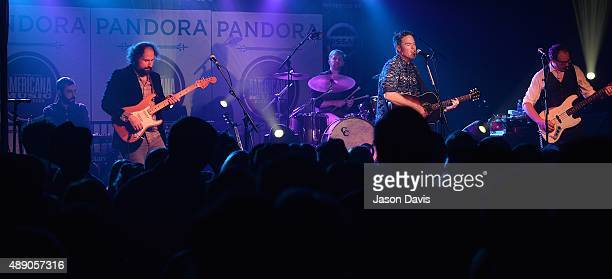 Recording Artist Josh Ritter performs at Pandora Presents Americana at The Cannery on September 18 2015 in Nashville Tennessee