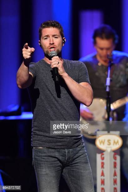 Recording Artist Josh Turner performs onstage at The Grand Ole Opry on June 9 2017 in Nashville Tennessee