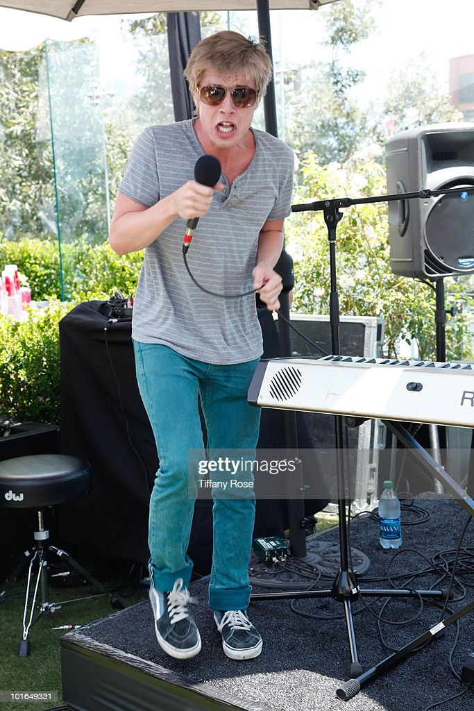 Recording artist Josiah Leming performs at GBK's Gift Lounge in Honor of the 2010 MTV Movie Awards - Day 2 at The London Hotel on June 5, 2010 in West Hollywood, California.