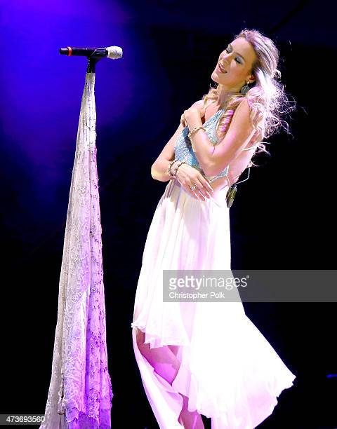 Recording artist Joss Stone performs onstage during Rock in Rio USA at the MGM Resorts Festival Grounds on May 16, 2015 in Las Vegas, Nevada.