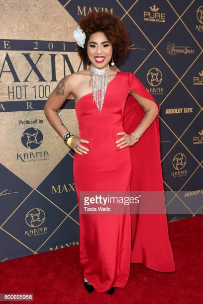 Recording artist Joy Villa attends the 2017 MAXIM Hot 100 Party at Hollywood Palladium on June 24 2017 in Los Angeles California