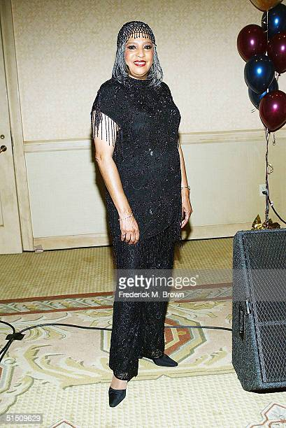 Recording artist Joyce Vincent attends the Second Annual TV DVD Conference at the Century Plaza Hotel on October 19 2004 in Los Angeles California...