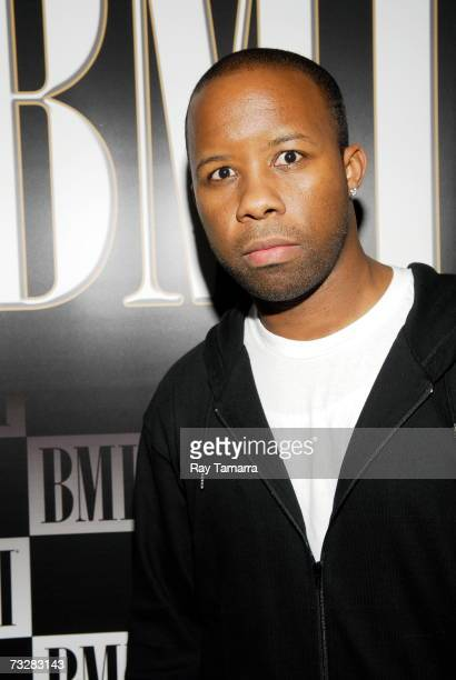 Recording artist JQue attends BMI's PreGrammy Party at the Mondrian Hotel February 09 2007 in Los Angeles California