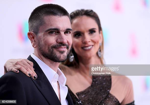 Recording artist Juanes and Karen Martinez attend The 17th Annual Latin Grammy Awards at TMobile Arena on November 17 2016 in Las Vegas Nevada